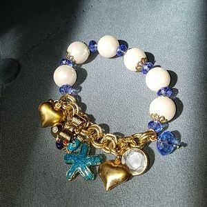 Betsey johnson under the sea bracelet